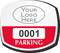 Parking Labels - Design OS6L