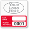 Parking Labels - Design SQ10L